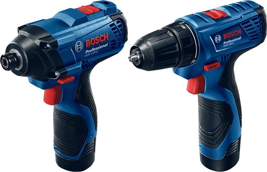 Набор Bosch GDR120-LI+GSR 120-LI, ЗУ, 2х1,5 Ач (06019F0002)