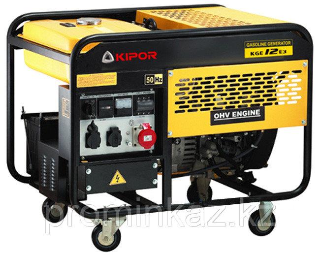 Бензиновый генератор KIPOR KGE12E,(9.5 кВт)