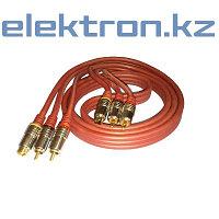 Шнур 2RCA + S-video - 2RCA + S-video, «Premier»Т8770 кабель аудио,видео,компьютерный купить в Астане