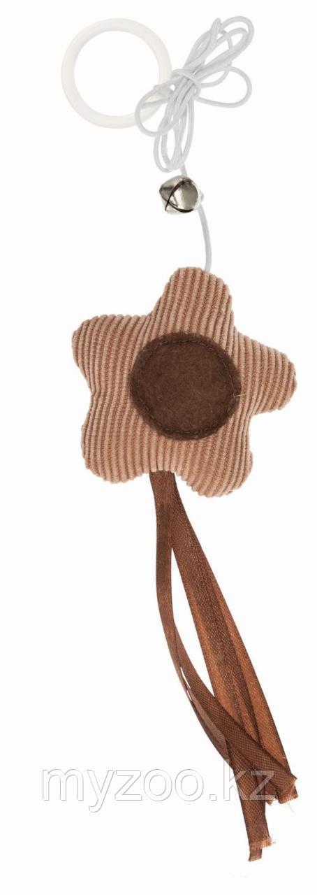 Игрушка для кошек, цветок на веревке, 6 cm/65 cm