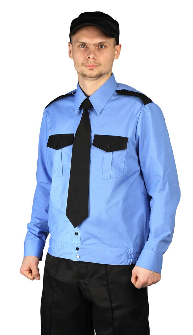Рубашка охранника с поясом на резинке в Алматы