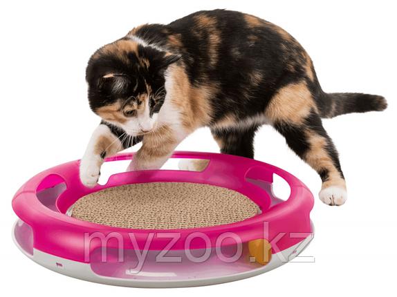 Игрушка для кошек и когтеточка, plastic, ø 37 cm