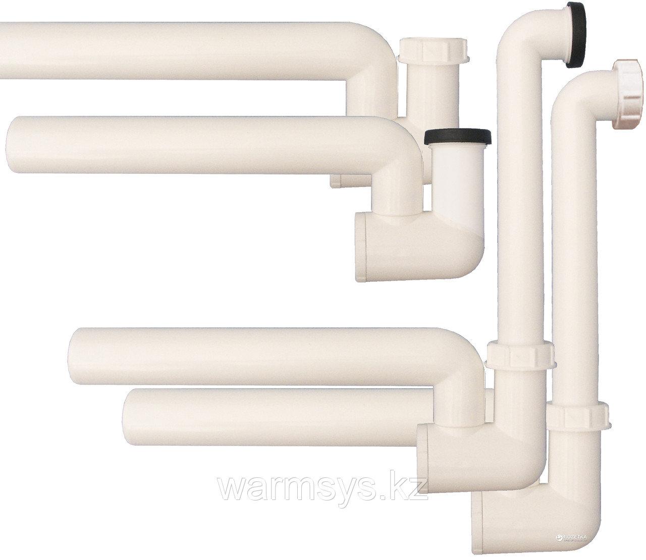 Сифон для кондиционеров с гидрозатвором и запахозапирающим устройством HL136N