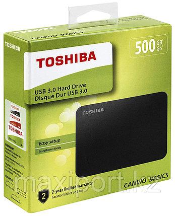 Toshiba Canvio Basics 500Gb, фото 2