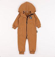 Комбинезон с капюшоном и боковыми карманами «Кэмел» от Bungly Boo (без клапана)