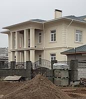 Архитектурные фасады из пенопласта