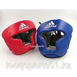 Закрытый боксерский шлем для единоборств защитный с бесплатной доставк