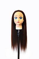 Голова-манекен (аниме) каштан волос искусственный - 60 см