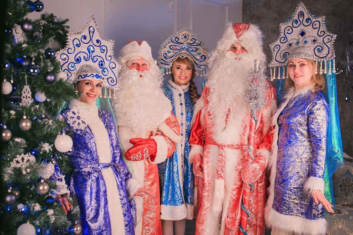 Пригласить деда мороза в Алматы