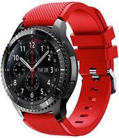 Ремешок силиконовый Samsung Gear S3 (красный)