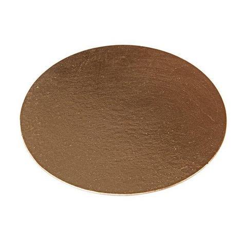 Подносы д/сервировки d=28см с золот покрыт, картон, фото 2