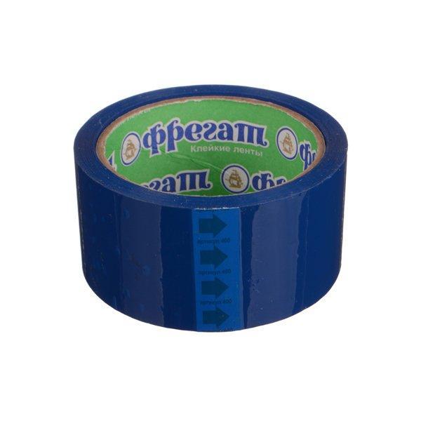 Клейкая лента 48мм*66м цветн. (синяя)