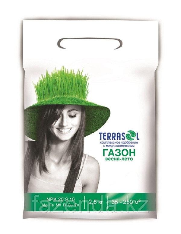 Удобрение Terrasol  для газона весна-лето 2,5кг