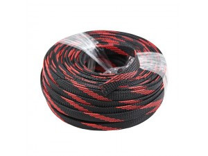 Змейка Audio Nova 12 RB черно/красная