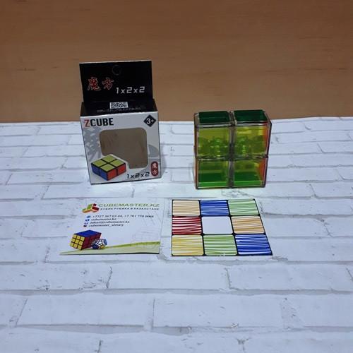 Кубоид Z-cube Floppy 1x2x2 Transparent