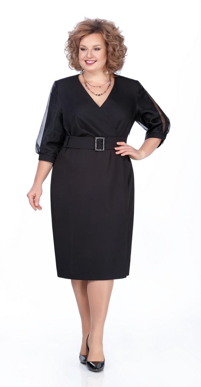 Платье Pretty-985, черный, 54