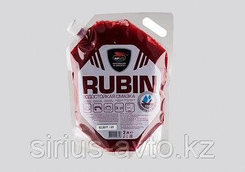 ВМП АВТО Водостойкая смазка MC 1520 RUBIN для подшипников, 2 л дой-пак