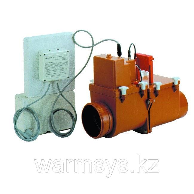 Магистральный двухкамерный канализационный затвор с электроприводом HL710.2EPC