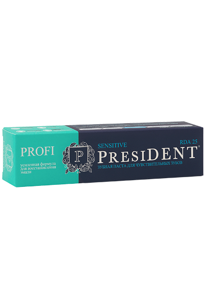 PresiDENT PROFI Sensitive зубная паста 50 мл