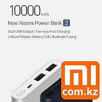 Портативная зарядка Повербанк Xiaomi Mi Power bank 2S, 10000mah (2xUSB), silver. Оригинал.