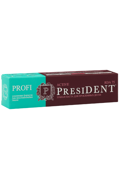 PresiDENT PROFI Active зубная паста 50 мл