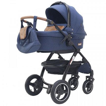 "Детская коляска 2 в 1 Rant ""Alaska"" (blue jeans), фото 2"