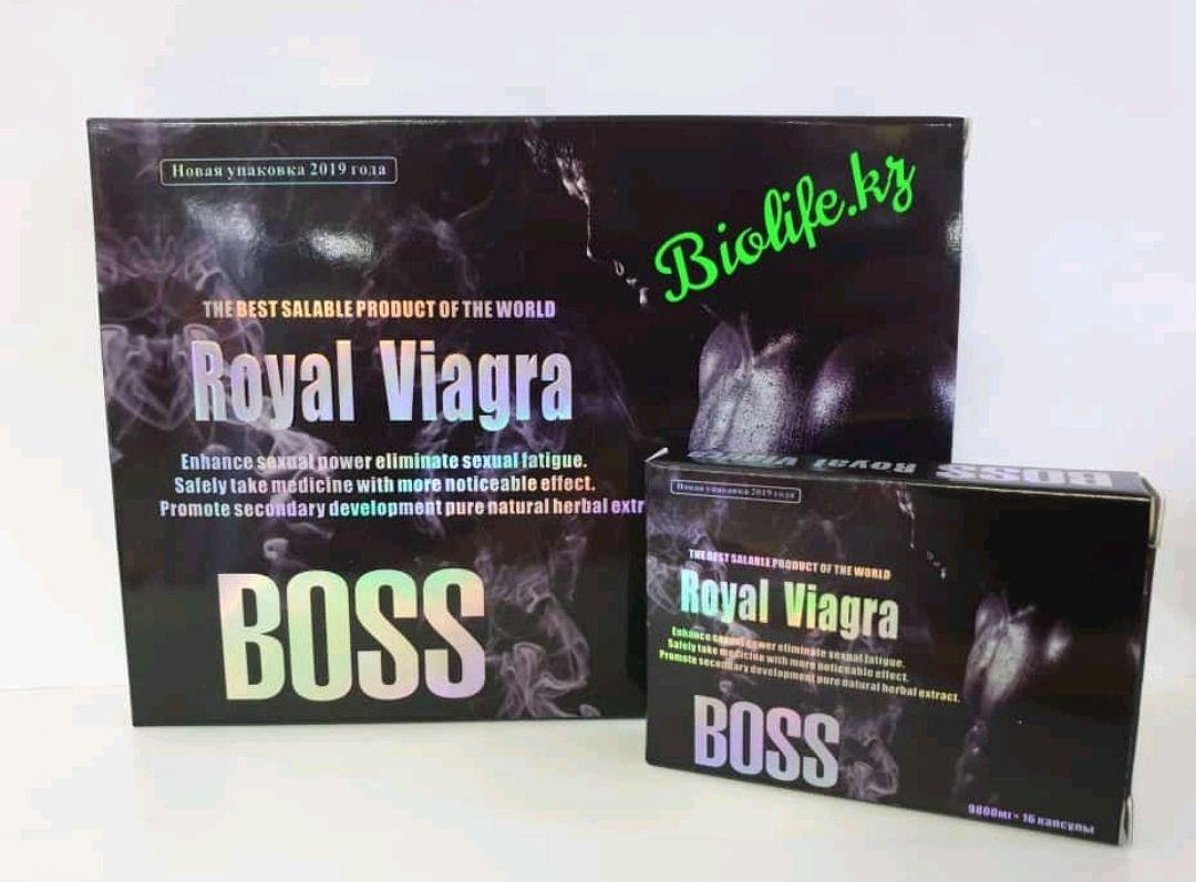 Boss Royal Viagra Новинка ( 16 капсул)