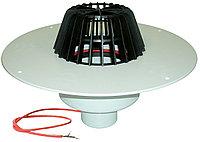 Воронка с листвоуловителем, с теплоизоляцией, с корпусом из ПВХ, с вертикальным выпуском HL62P