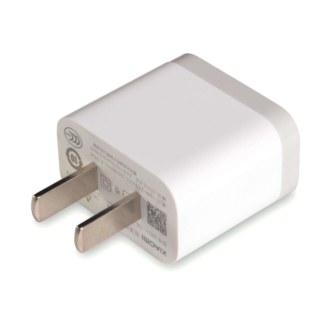 Xiaomi MDY-08-EVZ Универсальное USB зарядное устройство Чёрный