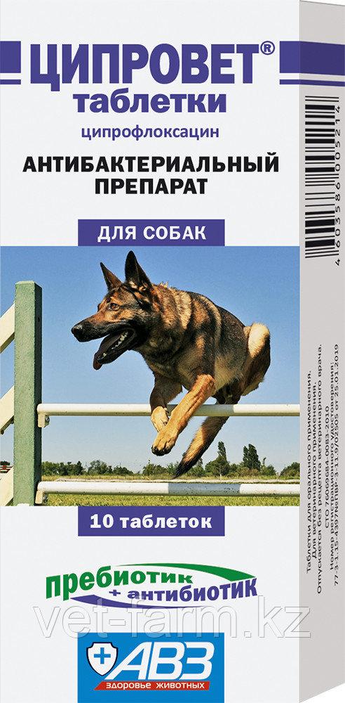 Ципровет таблетки для собак