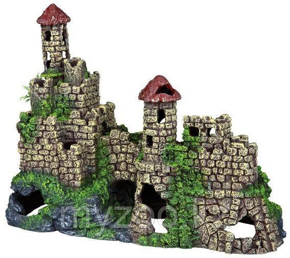 Декорация для аквариума. Руины замка. Р-р 25 x 19 x 13 cm.