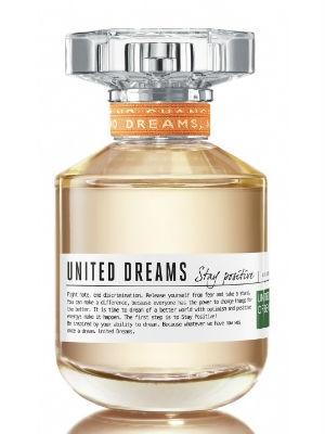 Туалетная вода Benetton United Dreams Stay Positive 80ml (Оригинал - Италия)