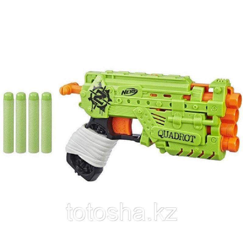 Nerf Zombie Strike Quadrot Зомбистрайк Квадрот E2673