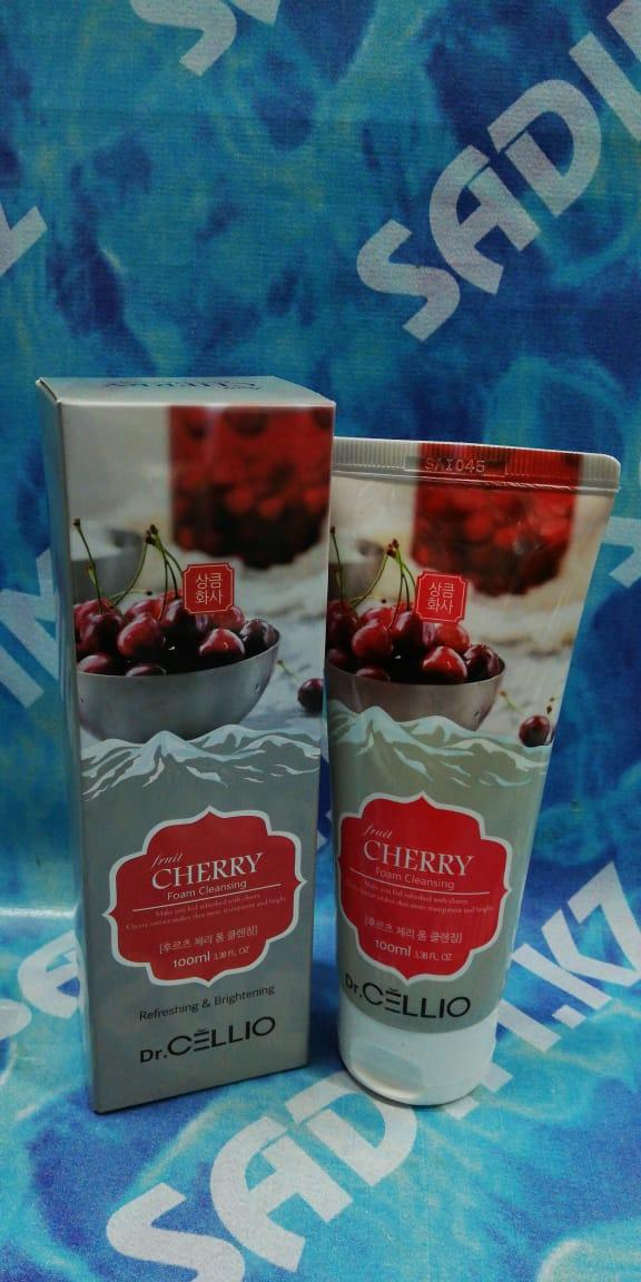 Dr.Cellio Cherry Foam Cleansing Refreshing & Brightening 100 ml - Освежающая пенка на основе Вишни