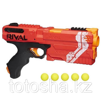 Nerf Rival Игровой набор Красная команда бластер Райвал + шарики Кронос E3109