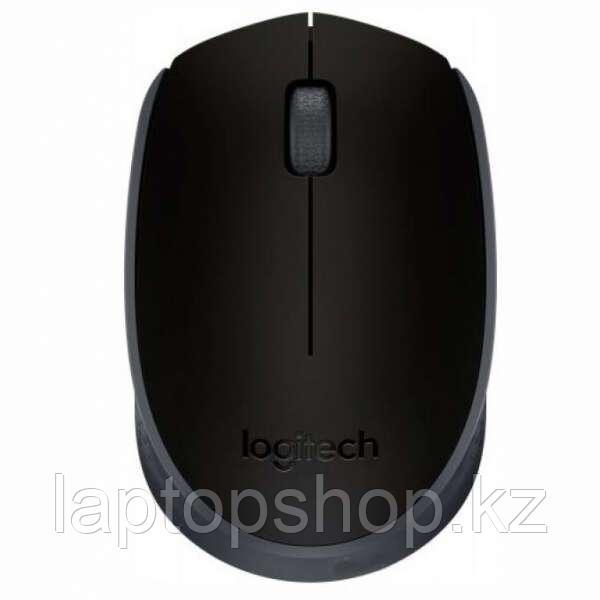 Мышь беспроводная Mouse Logitech M171, черная (910-004424)
