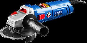 Углошлифовальная машина (болгарка), ЗУБР , пылезащита, 125 мм, 11000 об/мин, 850 Вт