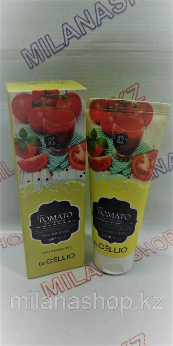 Dr.Cellio Tomato Foam Cleansing Lively & Moisturizing 100 ml - Очищающая  пенка на основе томата