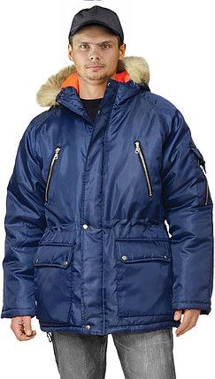 Куртка зимняя рабочая мужская удлиненная в Алматы, фото 2
