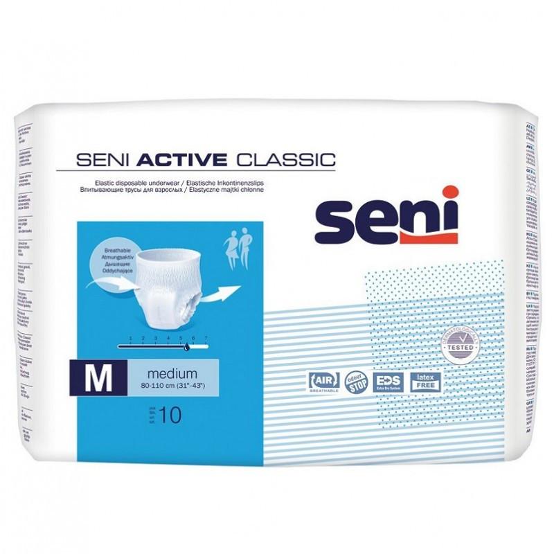 Эластичные впитывающие трусы Seni Active Medium
