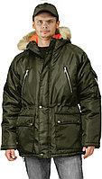 Куртка мужская зимняя хакки удлиненная в Алматы