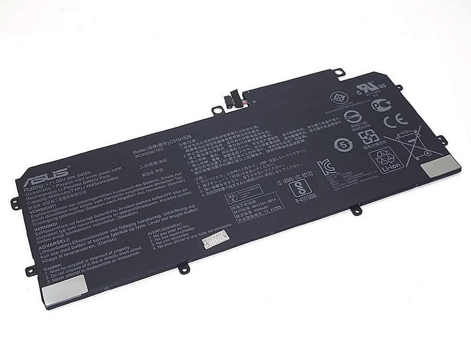 Аккумулятор для ноутбука Asus C31N1528 (11.55V 4680 mAh) Original