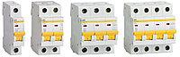 Автоматический выключательВА47-29 4Р  4А 4,5кА характеристика D ИЭК