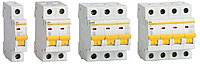 Автоматический выключатель ВА47-60M 3Р 16А 6кА B IEK