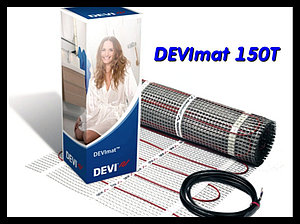 Двухжильный нагревательный мат DEVImat 150T - 0,5м * 20м