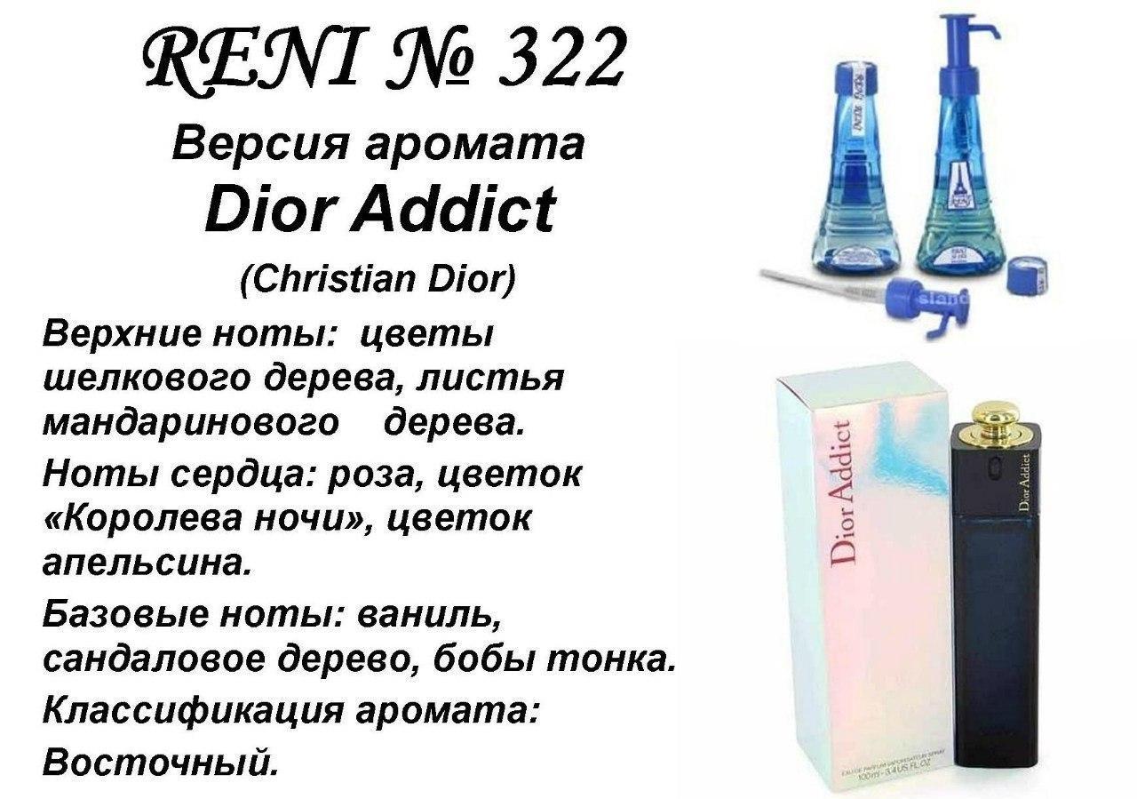Аромат направление addict (christian dior) 100мл