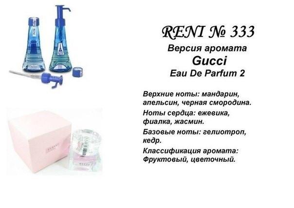Аромат направление gucci eau de parfum 100мл