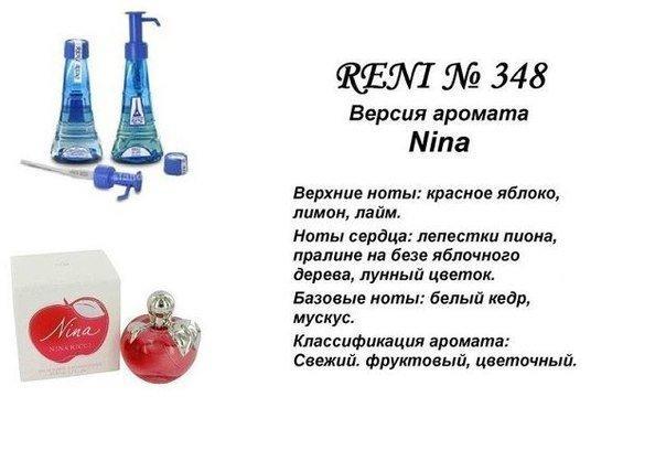 Аромат направление nina ricci new ( nina ricci ) 100мл