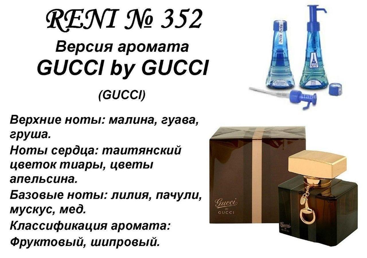 Аромат направление gucci by gucci (gucci) 100мл