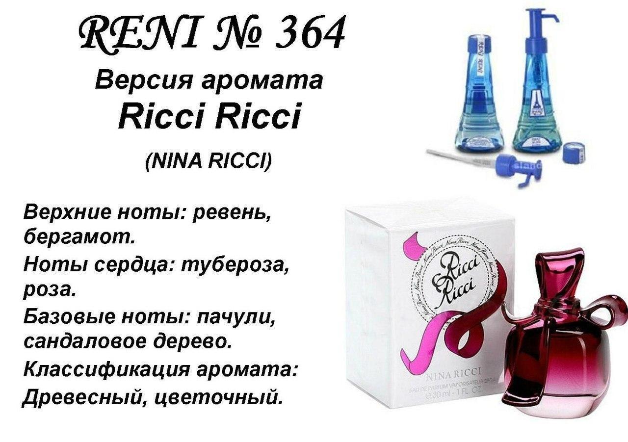 Аромат направление ricci ricci (nina richi) 100мл